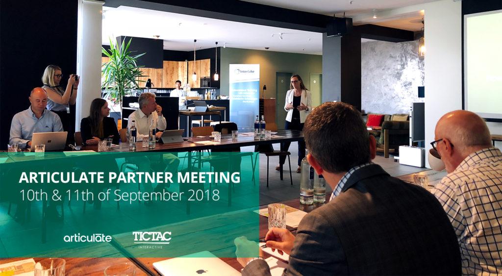 TicTac på Articulate Partner Meeting 2018 – Berlin - featured image